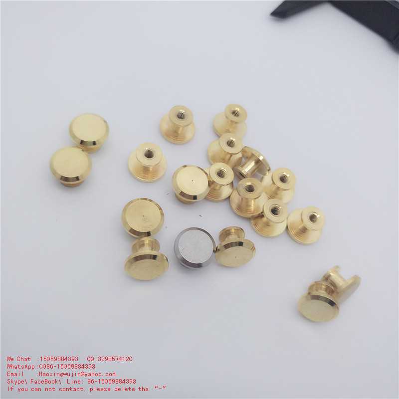 Specifications as your required CNC customized pure copper pieces Flat nipple nail Milk nail Shaved head Lash nail