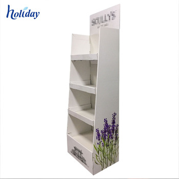 9 Years Factory Customized Lavender Essential Oil Display Stand Rack For Perfume Bottles