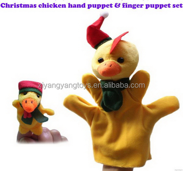Contemporary Crazy Selling family lovely hand puppet