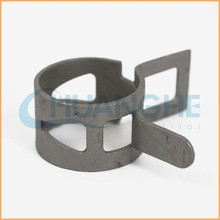 Chuanghe supplier nylon plastic copper teeth spring clamp