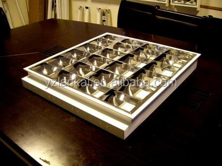 Manufacture LED fluorescent louver light fitting