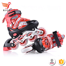 HFR-HFS1696New kids High Quality led flash wheels roller skate shoes wholesale