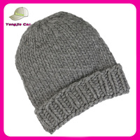 New Design Custom Branded Hand Knitted Hat