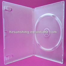 14mm dvd cases auto package machine grade semi clear single cd package