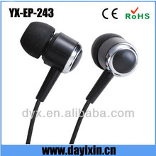 China factory wired in ear style headphone earphone for promotion