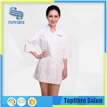 Wholesale clothing spa uniforms buy wholesale spa for Spa uniform cotton