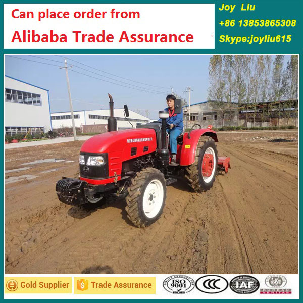 Factory supply best quality 50hp small agriculture tractor