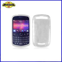 New Arrival Grid Pattern TPU Gel Case Cover for BlackBerry Curve 9360 Apollo,Silicone Case