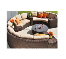 2017 SIGMA weatherproof wintech wicker rattan wicker furniture
