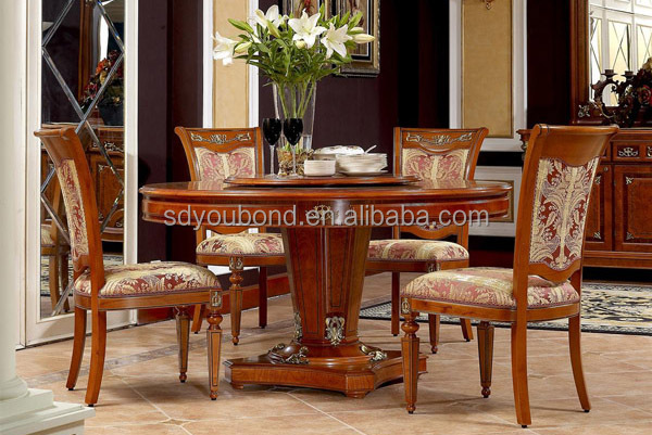 0029 high quality antique wooden dining table classic for High quality dining room furniture