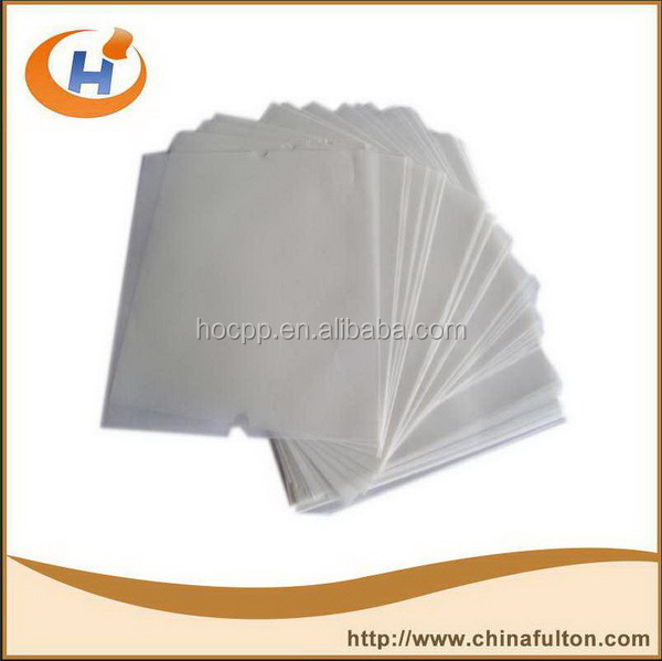 Wax paper for soap decorative Wax paper