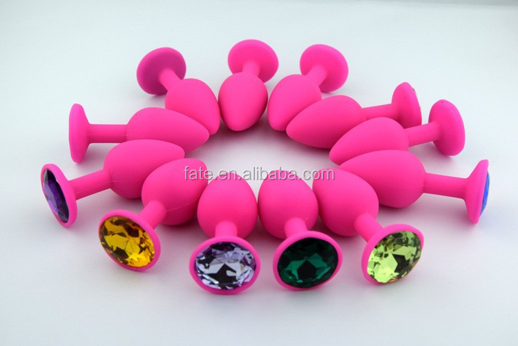 2016 new design medical grase silicone anal plug, female anal sex toys pictures, vagina anal plug