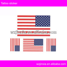 customized country flag face temporary tattoos,American flag tattoos
