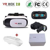 2017 Promotion Virtual Reality Vr Box With Remote 2nd version generation Headset 3D glasses vr box 2.0