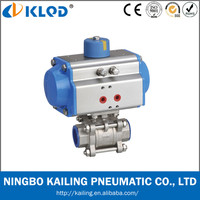 Low price pneumatic ball valve for water treatment Model Q611F-16P