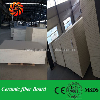 2300F Oven Refractory Thermal Insulating Ceramic Fiber Board