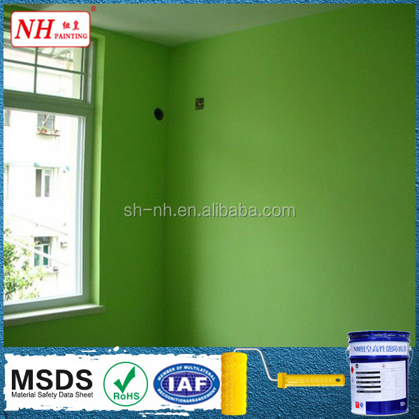 Acrylic polymer emulsion paint