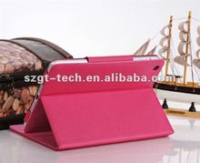 2012 latest New for ipad mini case with back cover