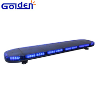 12 volt 48inchs blue warning led light bar for military trucks
