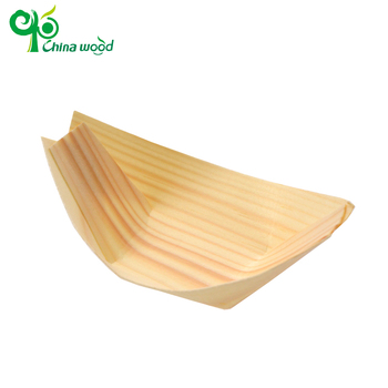 Special custom disposable wood pine boat