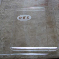 fashion modern high quality clear a4 acrylic box wholesale manufacturer