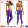 factory direct price 88%Nylon 12% spandex fitness sports wear women sexy yoga wear suit
