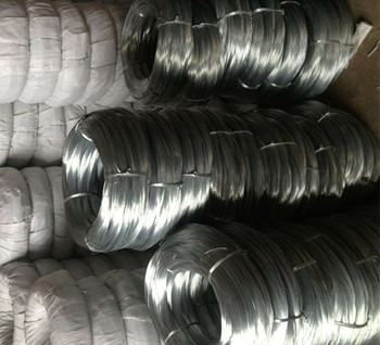 0.5mm High zinc coating high tensile strength hot dipped galvanized steel wire for 1x4 1x7 Strand wire