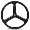 Good price for 100% carbon 3 spoke bike wheels clincher