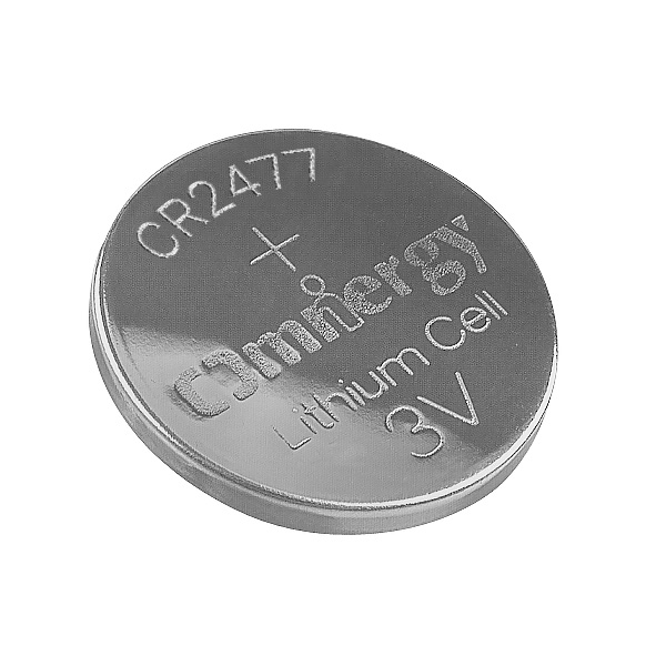 Omnergy CR2477 Lithium Manganese Dioxide Primary Coin Cell Battery
