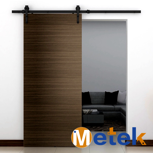 Sliding door rails system buy barn door rail sliding for Sliding glass doors 9ft