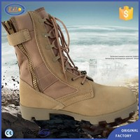 Wholesale In Stock Combat Army Desert Ankle Rubber Men Boots Military