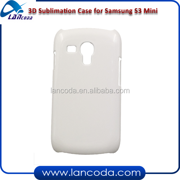 3d sublimation cell phone case for Samsung Galaxy S3 mini I8190 mobile phone cover heat transfer