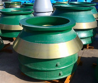 Hot sale cone Crusher parts metso hp cone crusher with best price