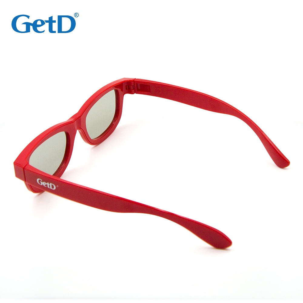 Reusable Passive Circular Polarized Children 3D glasses for 3D Cinema model G01GC