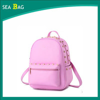 2016 the unique bags school backpack for girls cooler studded backs bags