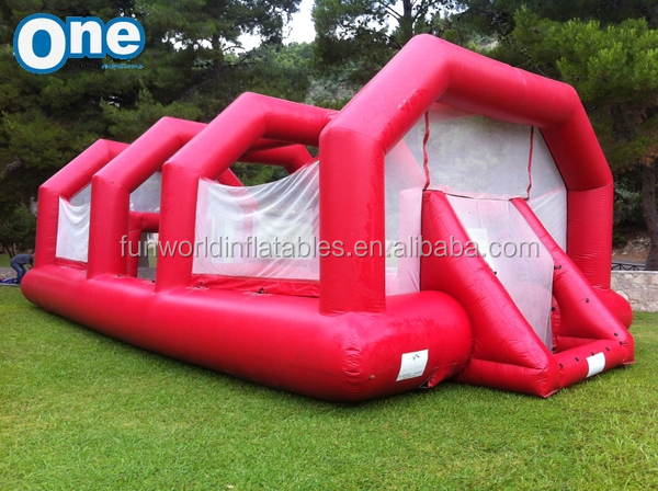 Commercial inflatable table football field, inflatable human table football