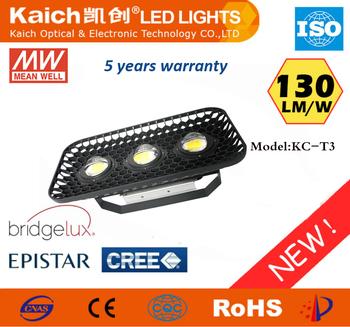 150W high power LED flood light/Meanwell driver Bridgelux chips flood light