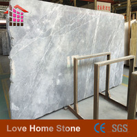 Reconstituted Silver Net Grey Marble
