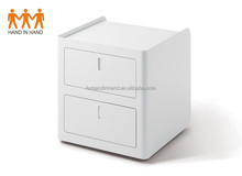 HAND IN HAND made WD-A2 Two box drawers pedestal/2 drawers under the table/ 2 drawers cabinet with soft package cushion