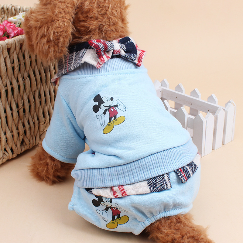 Comfortable and Warm Fleece Dog Hoodie,2016 trendy pet clothes for dogs