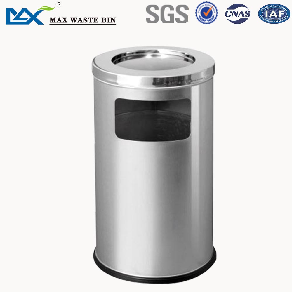 MAX-SN30 Stainless Steel Commercial Indoor Public Garbage Bin