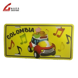 manufacturer euro funny car license number plate