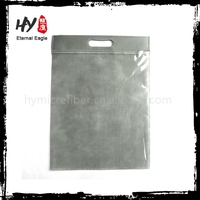 China Supplier new products pp non woven bag, promotion zipper nonwoven bag, plastic tote bag with zipper