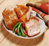 Frozen Cooking Herb Smoked / Steamed Chicken Breast Meat