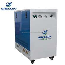 CE Certificate oil-free piston air compressor with dryer and sound proof cabinet