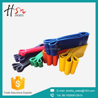 daily fitness crossfit resistance band with nylon bag
