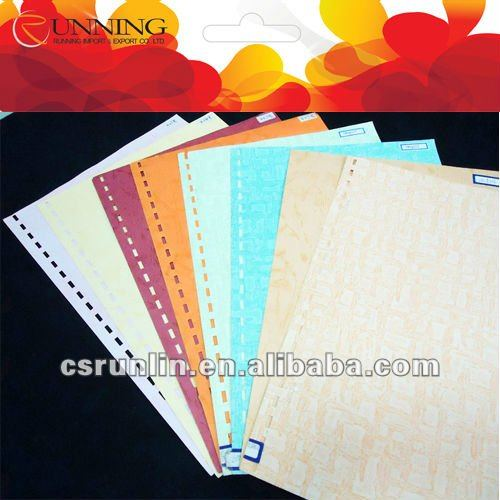 180g colored embossed goffered paper