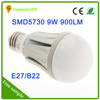 Dimmable long lifetime ra>85 9w 12v gu10 led b22 e27 220v led light bulbs for distributors