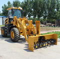 Low price 4WD ZL20F 2ton snow blower wheel loader