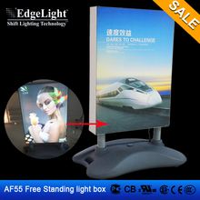 Aluminum Moving Picture Led Advertising Outdoor/indoor Scrolling Advertising Light Box